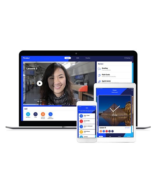 Learn Languages Online - Language Learner Success | Pimsleur®